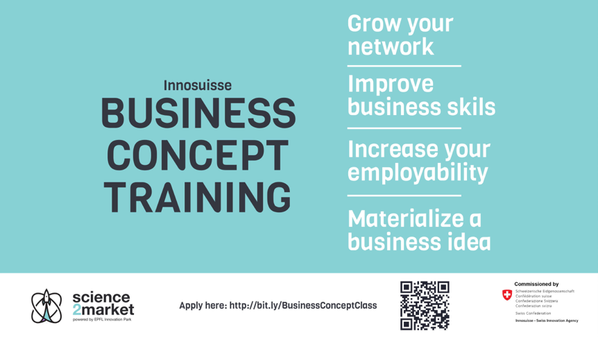 Business concept training